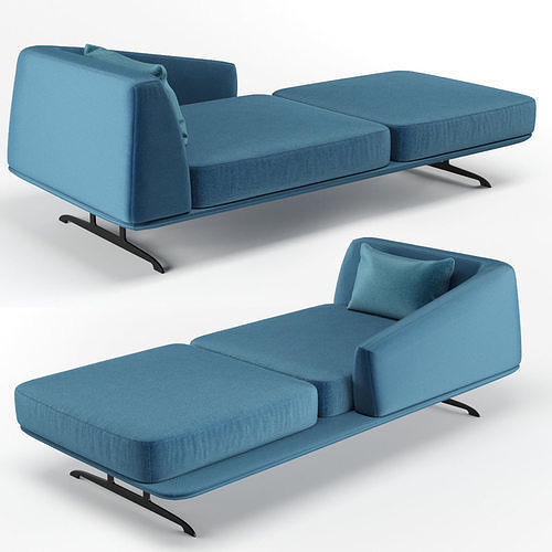 baleri italia trays dormeuse 3d model max obj mtl fbx 1