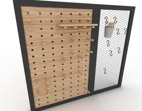 Pegboard 3D model