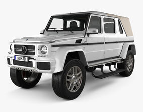 Mercedes-Benz G-Class W463 Maybach Landaulet 2017 3D model