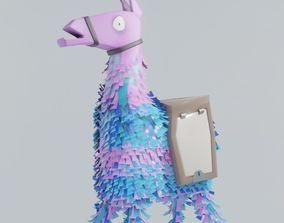 3D model fortnite battle royale llama