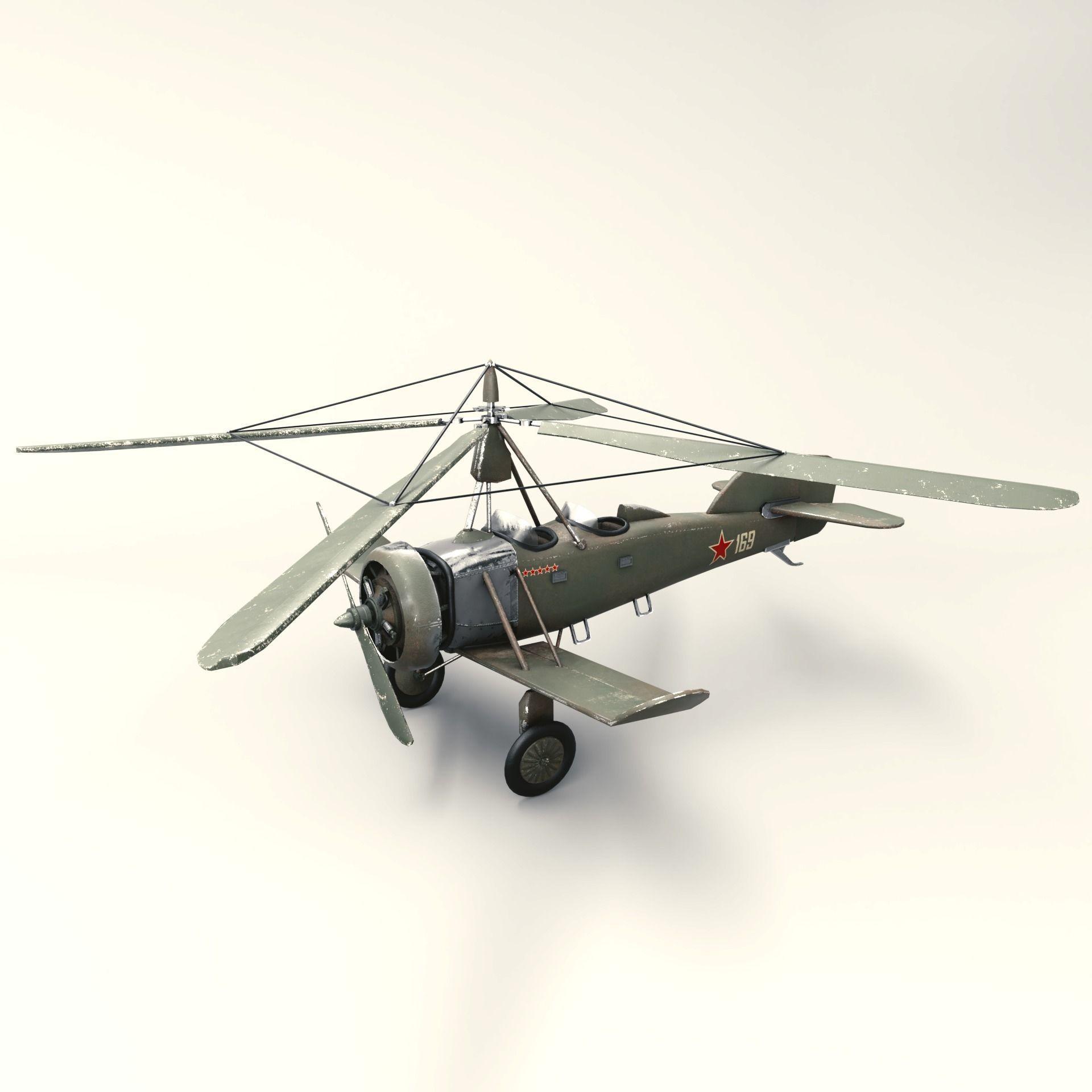 Soviet Autogyro TsAGI A-4