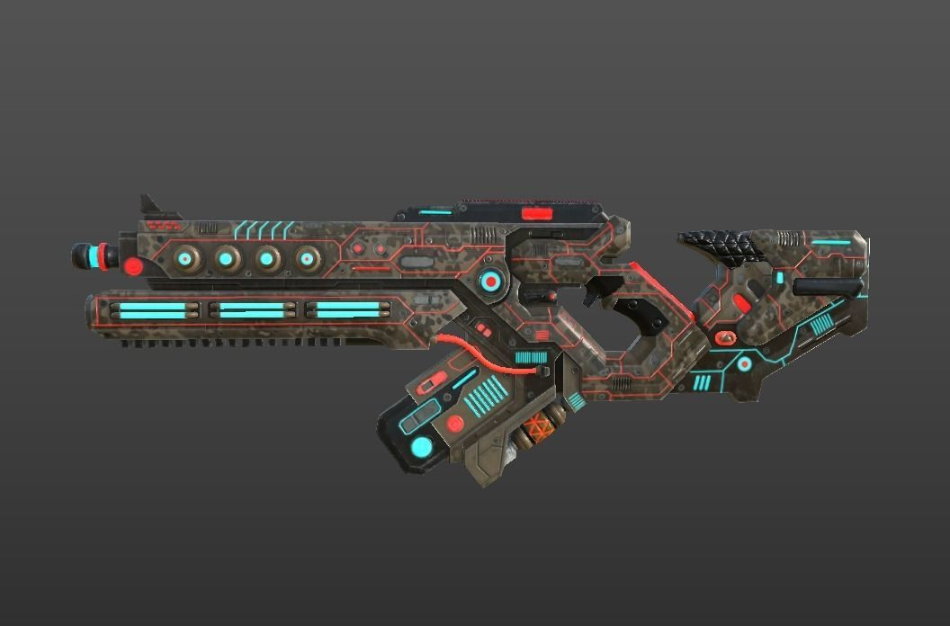SCI - FI RIFLE | 3D model