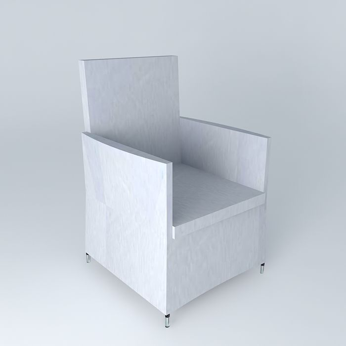 Armchair gray IBIZA houses the world