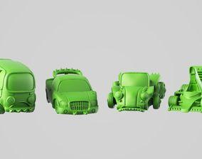 Race cars 3D printable model