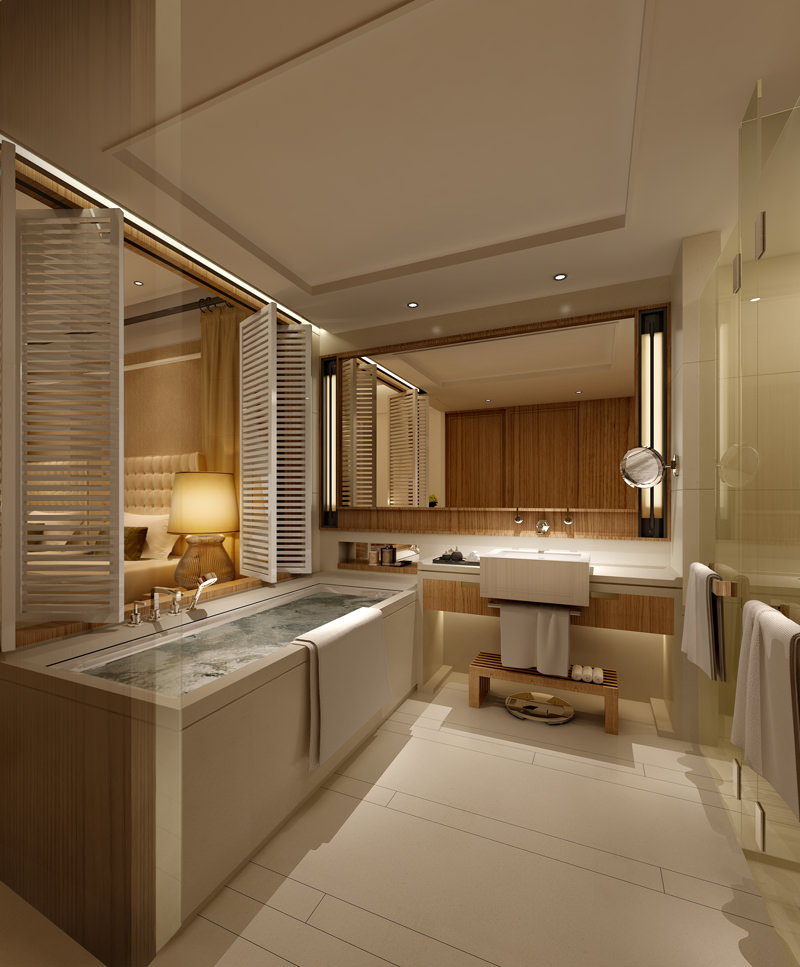 photo real hotel room 3d model max 1 ...