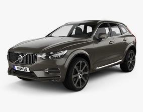 3D Volvo XC60 Inscription 2017
