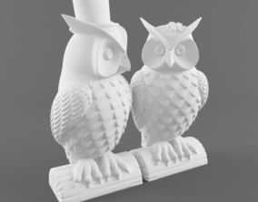 3D sitting Owl