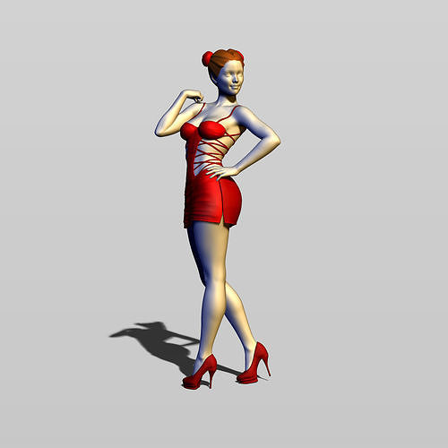 pretty woman part 14 3d model max obj mtl fbx stl ztl 1