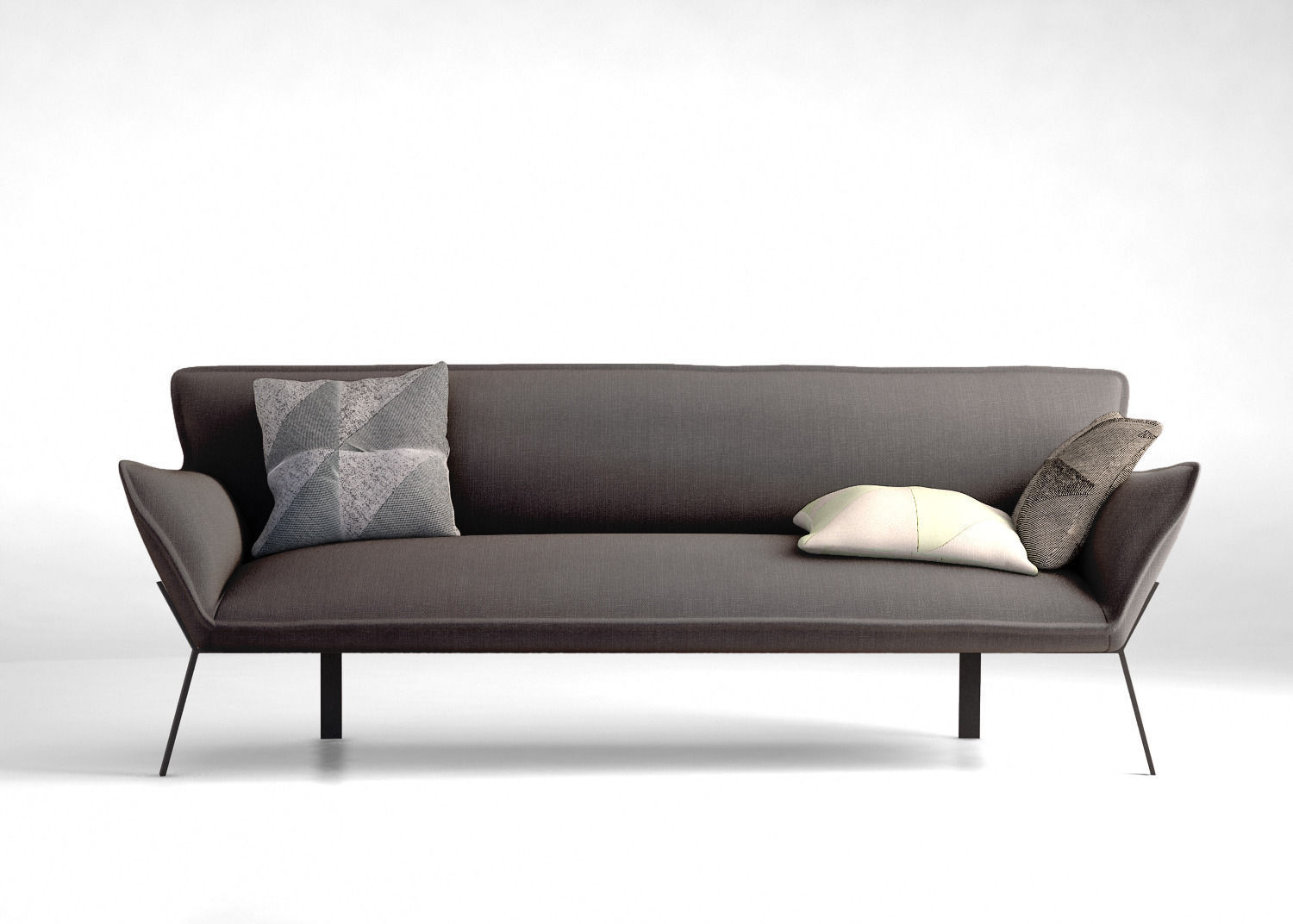 Jardan lewis sofa 3d model max obj mtl tga for Sofa 3d model