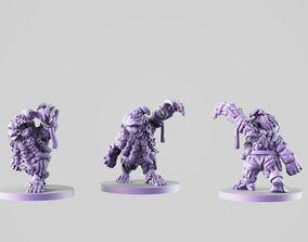 Zombie dwarf 3D printable model