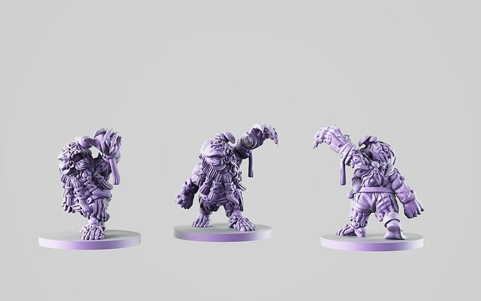 zombie dwarf 3d model stl 1