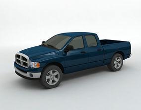 3D 2004 Dodge Ram 1500 Pickup Quad Cab
