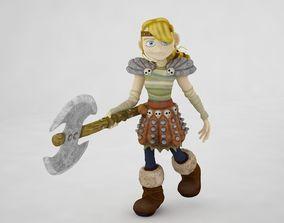 Girls blade cartoon figther 3D