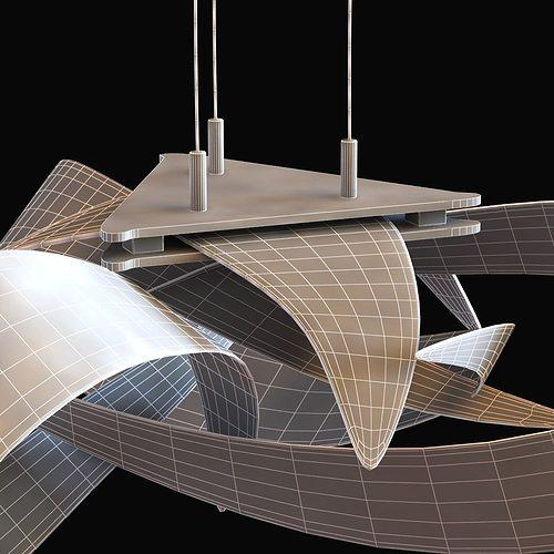 flux led pendant by hubbardton forge 3d model max obj 3ds fbx mtl 8 - Hubbardton Forge