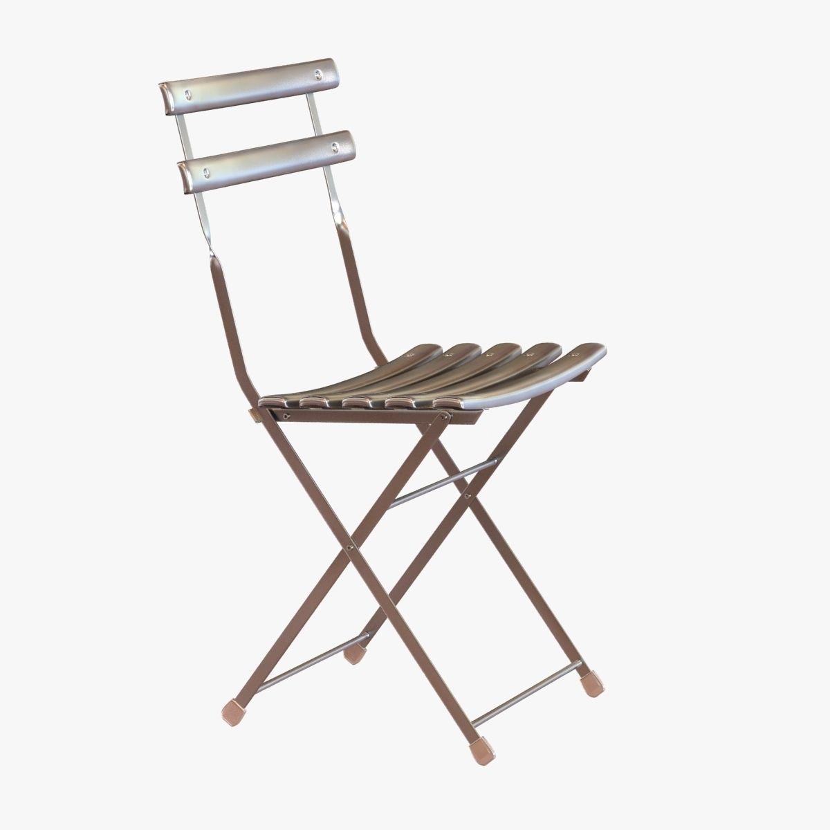 Dwr Arc En Ciel Folding Chair 3d Model Max Obj 3ds Fbx Mtl 1 ...