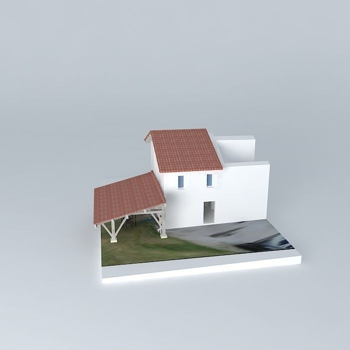 Renovation guest house free 3d model max obj 3ds fbx stl for Guest house models