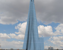 3D model The Shard Building