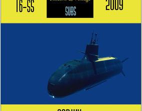 Soryu-class low poly model