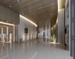 photoreal corridor 3D