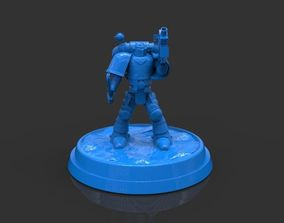 Space Marine 40K Figurine 3D print model