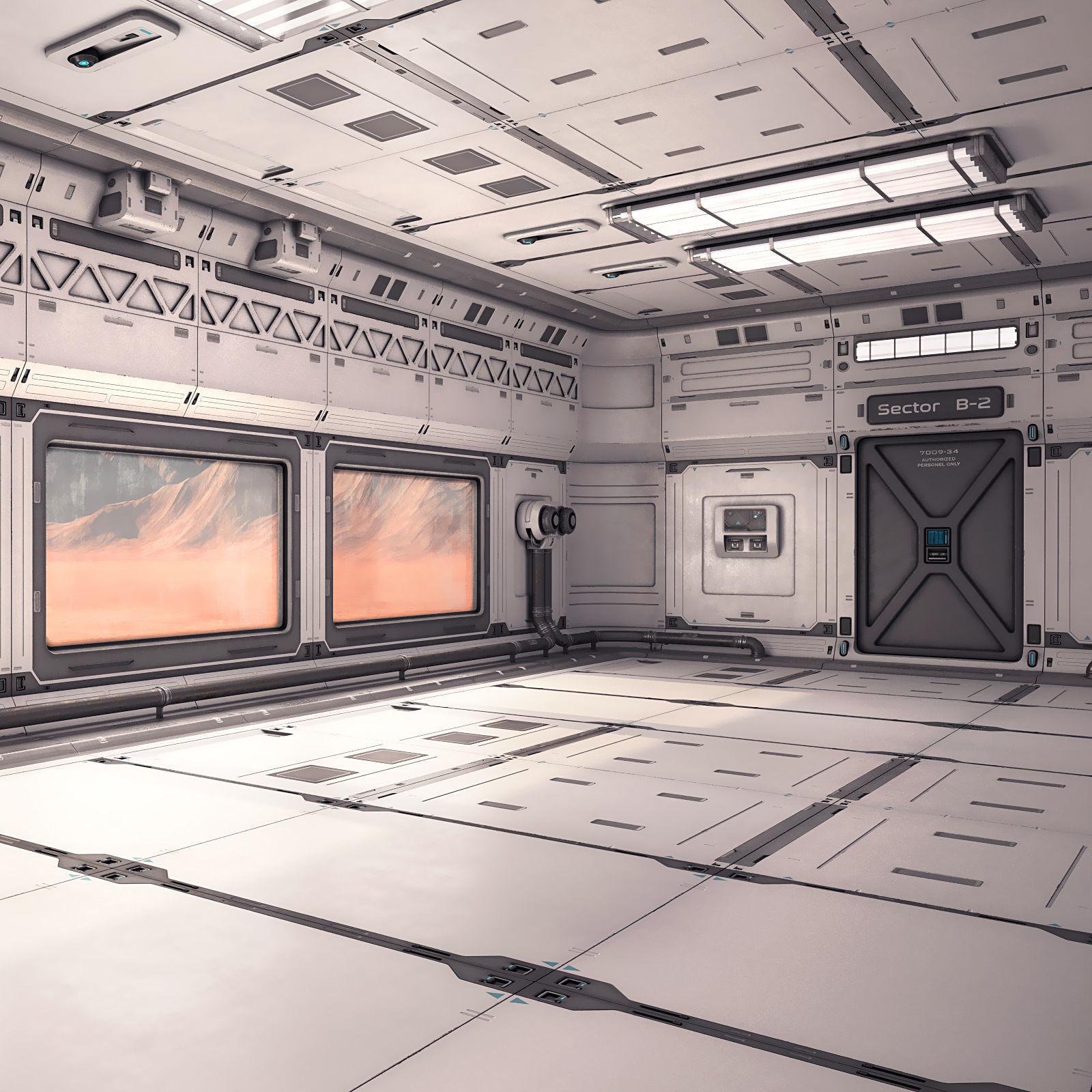 Sci Fi Lab Interior 02