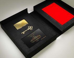3D VIP INVITATION BOX