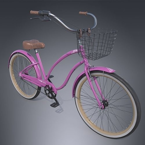 cruiser bike 3d model max obj mtl fbx tga 1
