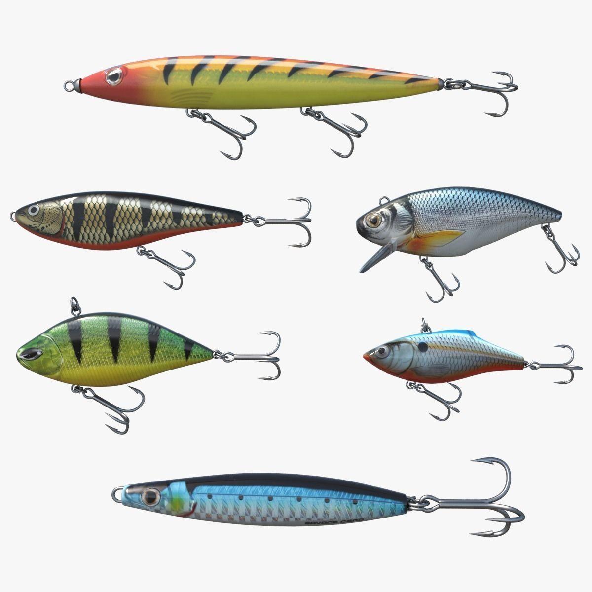 Fishing lure set