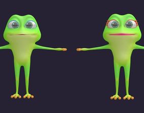 3D model Asset - Cartoons - Character - Animals - Frog - 2