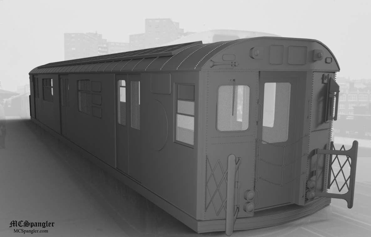 Subway Train Car R36