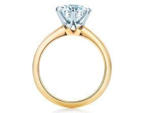 Tiffany Co rings 3D print model