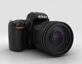 3D model Nikon D750