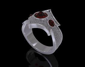 Rings Silver Dragon - 3D Print Model jewelry