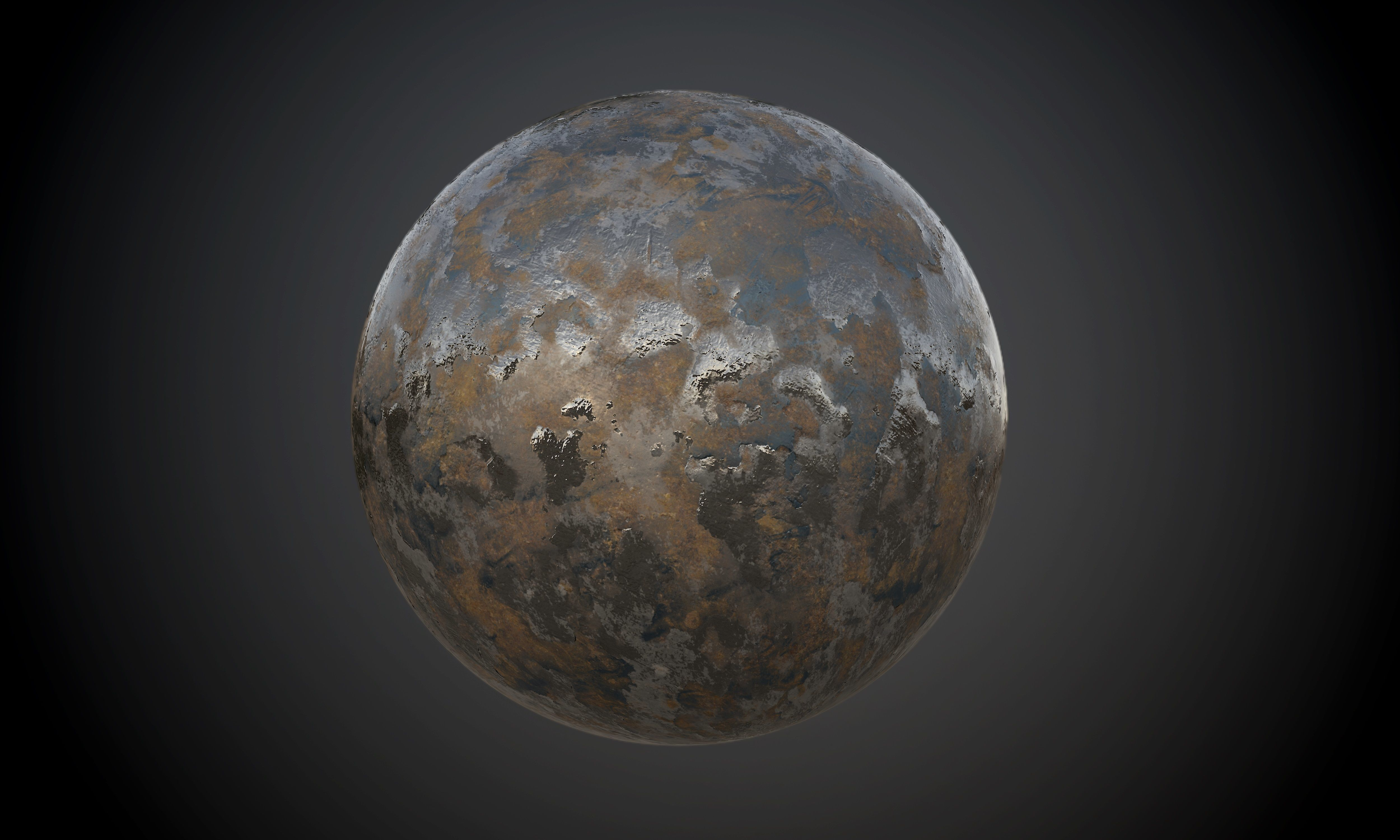 Metal Rusted Old Seamless PBR Texture