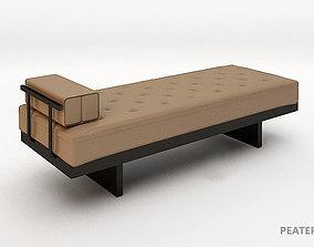 3D chaise sofa