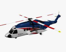 Sikorsky S-92 Bristow 3D Model