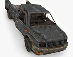3D model Damage SUV Car
