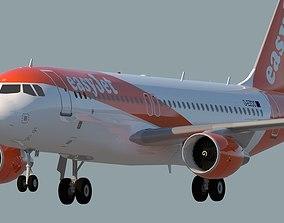 EASYJET AIRLINES A320 3D model
