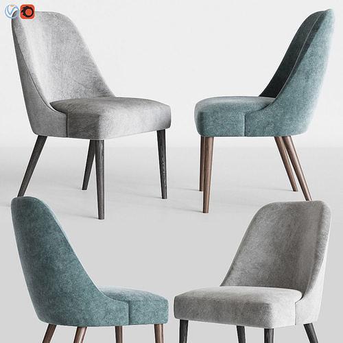 Zuma Pumice Accent Chair Skyline Furniture Model Max Obj Mtl 1
