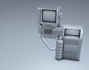 Future POSTBOX Display 3D model