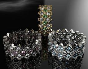 3D print model Ring with diamonds Carpet