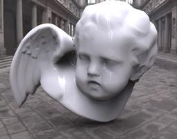 3d model angel sculpture