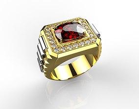 3D printable model Men Ring N100