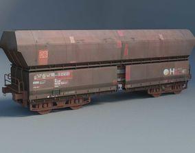 3D Train Wagon railroad