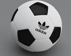 sport equipment Football ball 3D model