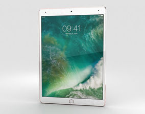 Apple iPad Pro 10-5-inch 2017 Cellular Rose Gold 3D