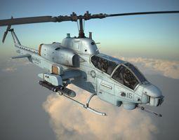 Bell AH-1W Super Cobra 3D Model