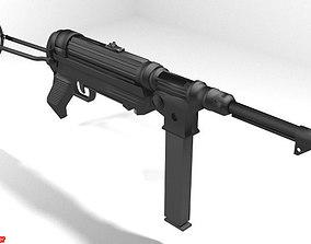 Submachine Gun - MP38 3D