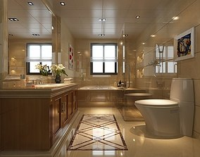 3D model vray Bathroom Interior