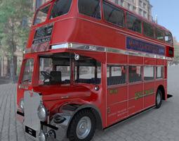 bus aec london studio max 3d